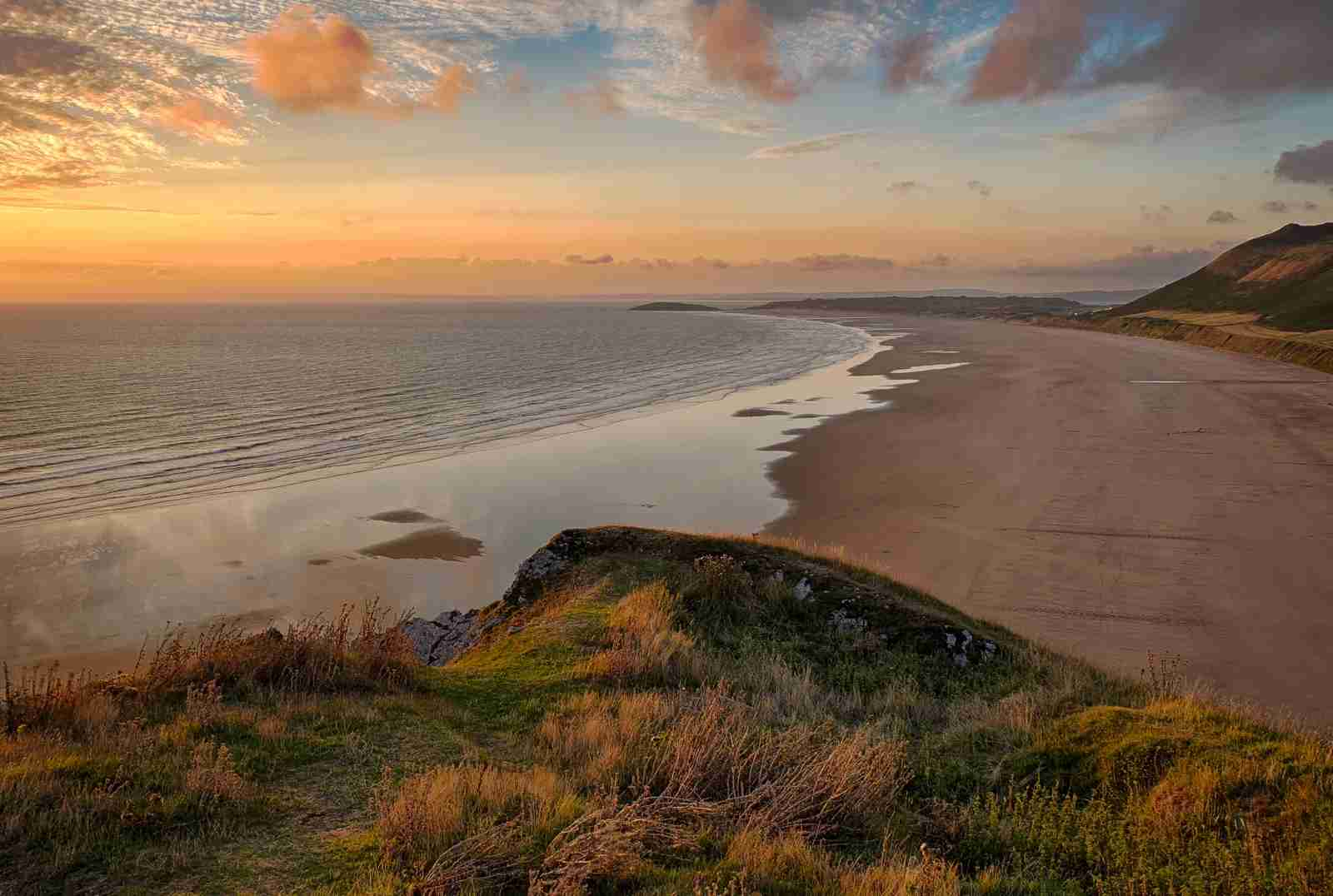Rhossili Beach. (Photo by stewart black / Getty Images)