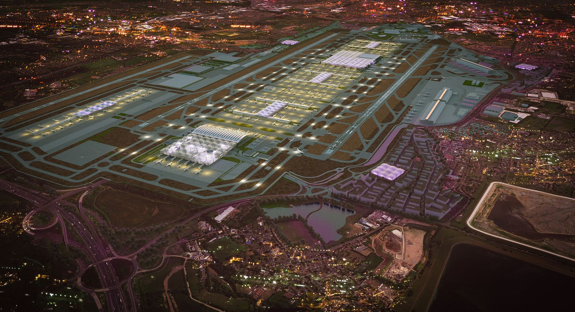 Heathrow Airport Reveals Expansion Plans In Anticipation of Third Runway