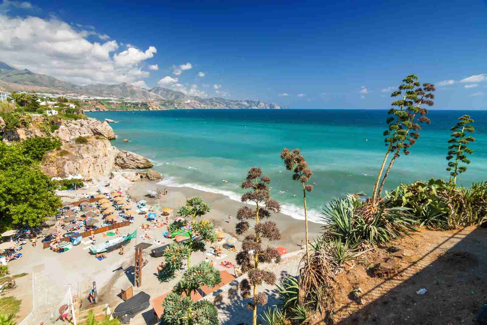 Nerja, Andalusia province, Spain.