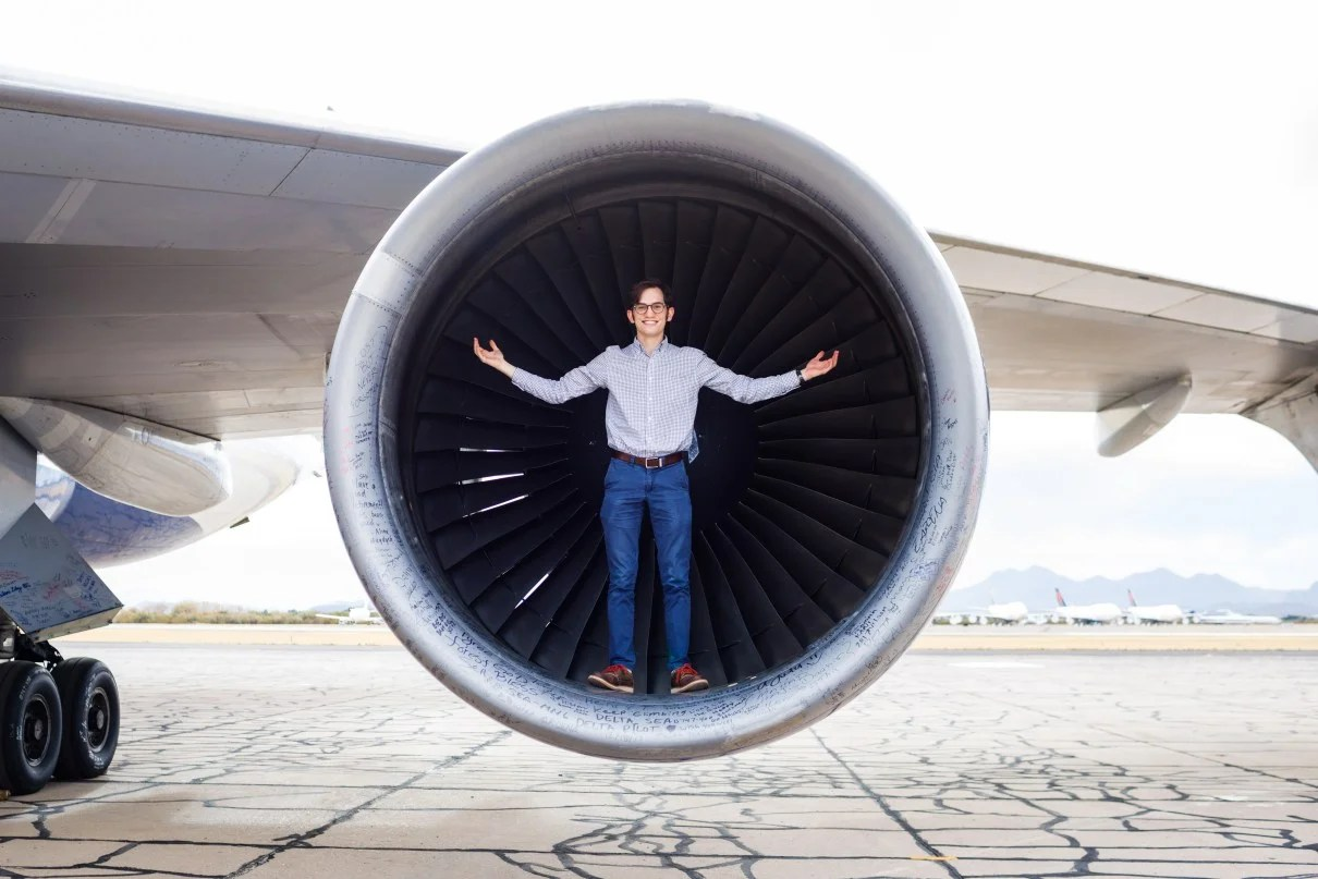 Behind the scenes at Rolls-Royce's jet-engine testing facility