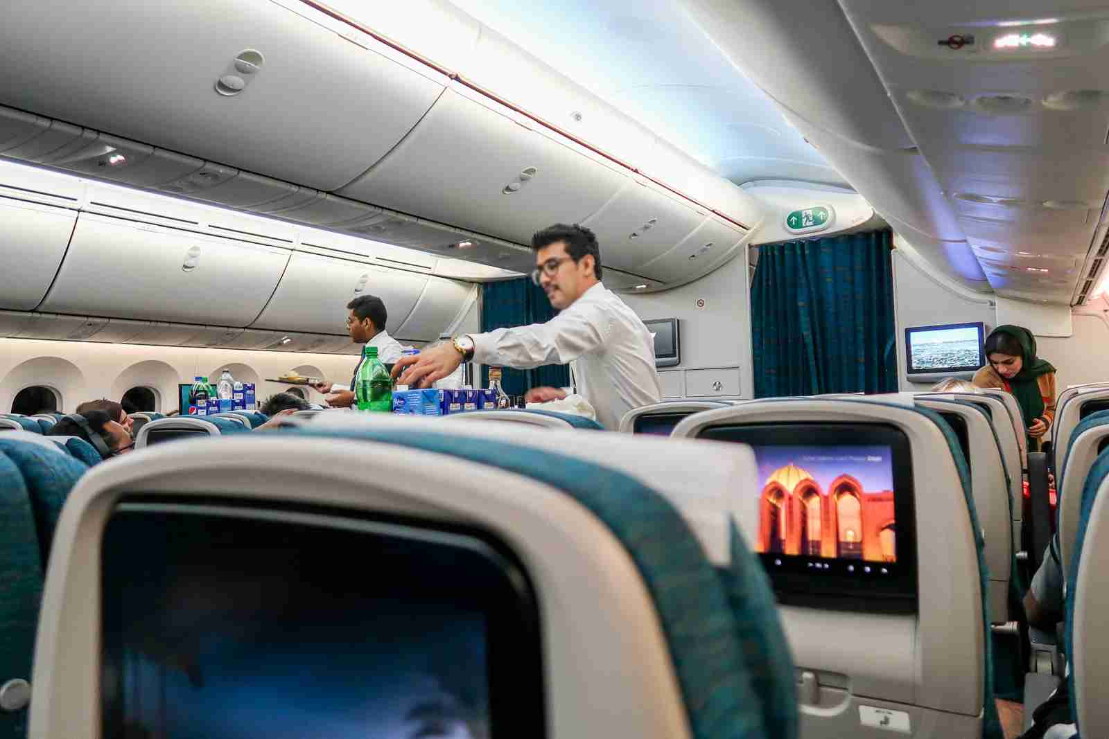 Oman Air Inflight