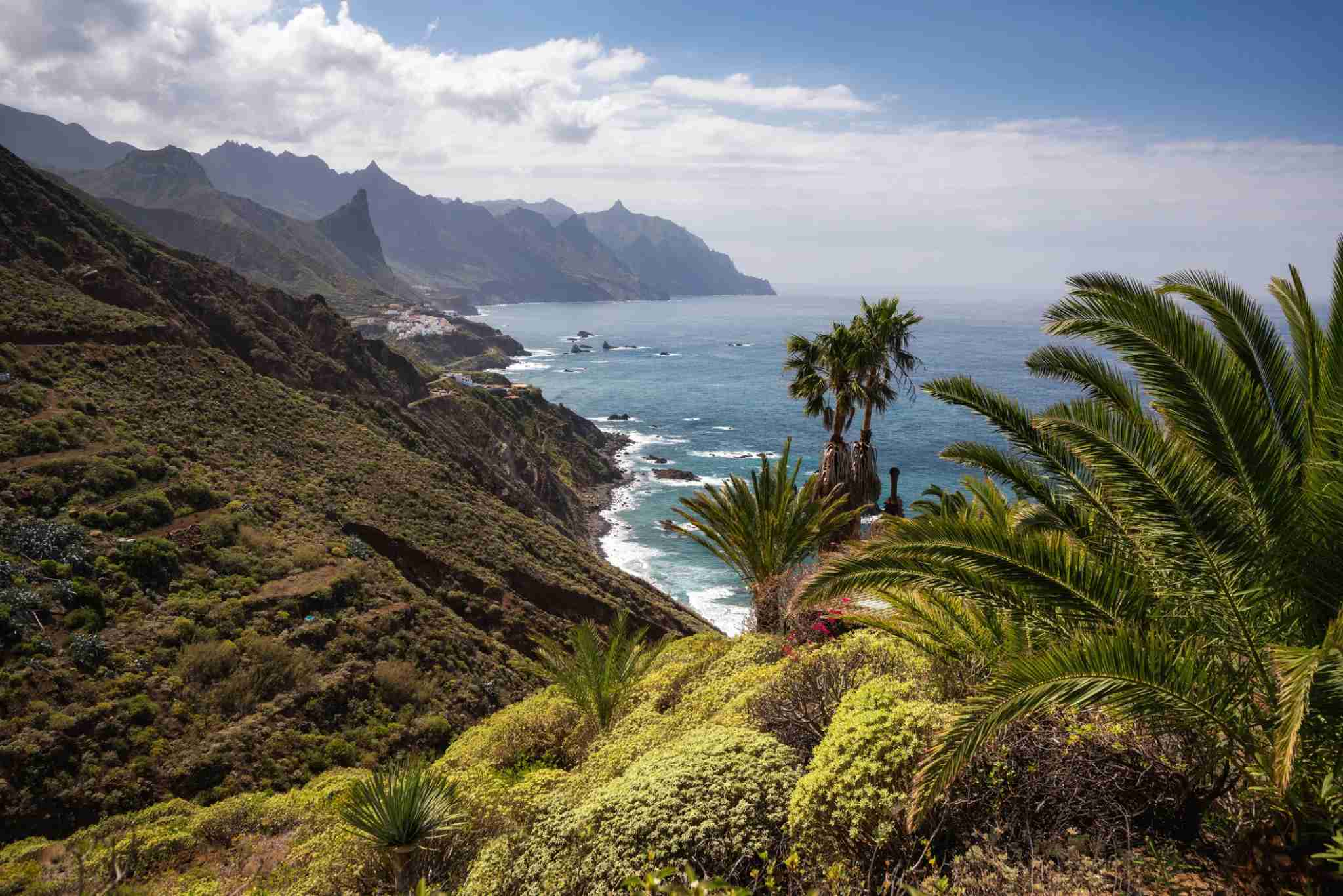 Expect year-round sunshine in the Canary Islands. Photo of Tenerife by Dennis Fischer Photography/Getty