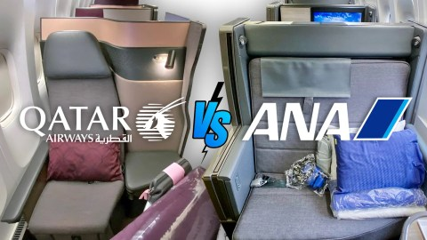 Business-class battle: Comparing ANA The Room and Qatar Qsuite