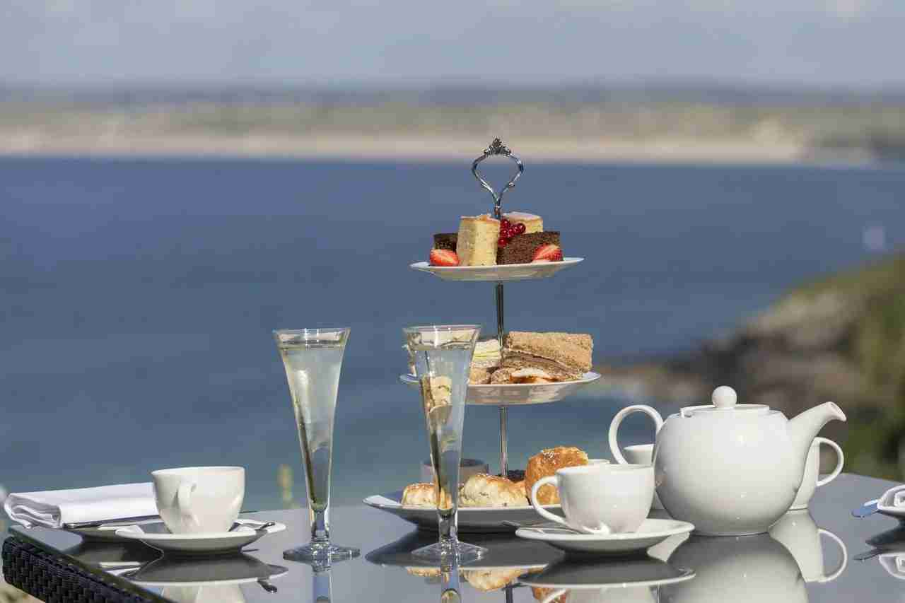 Afternoon tea with a view (Photo courtesy booking.com)