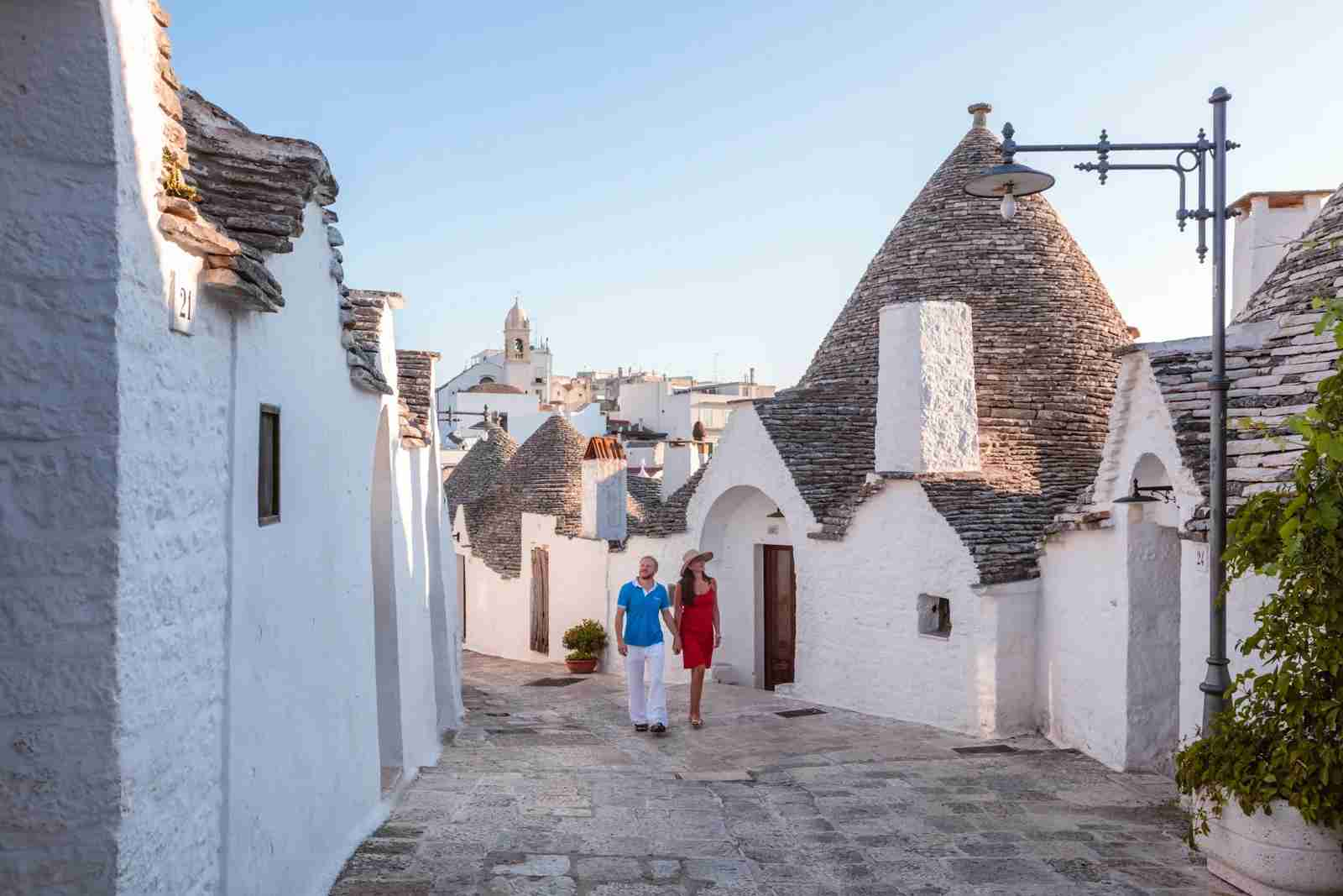 Alberobello, Italy. (Photo by Matteo Colombo/Getty Images)