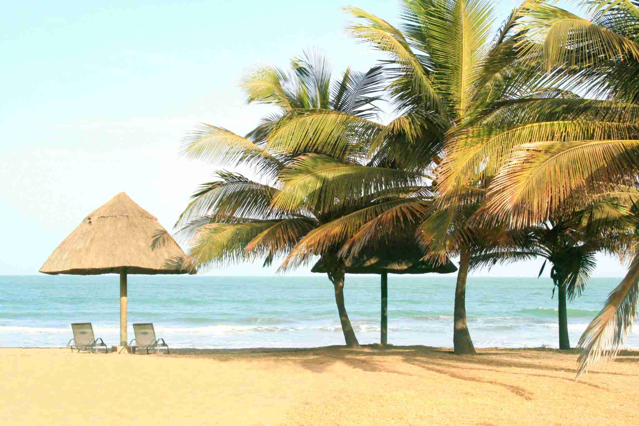 Beach in Banjul, Gambia (Photo by Zelg/Getty Images)