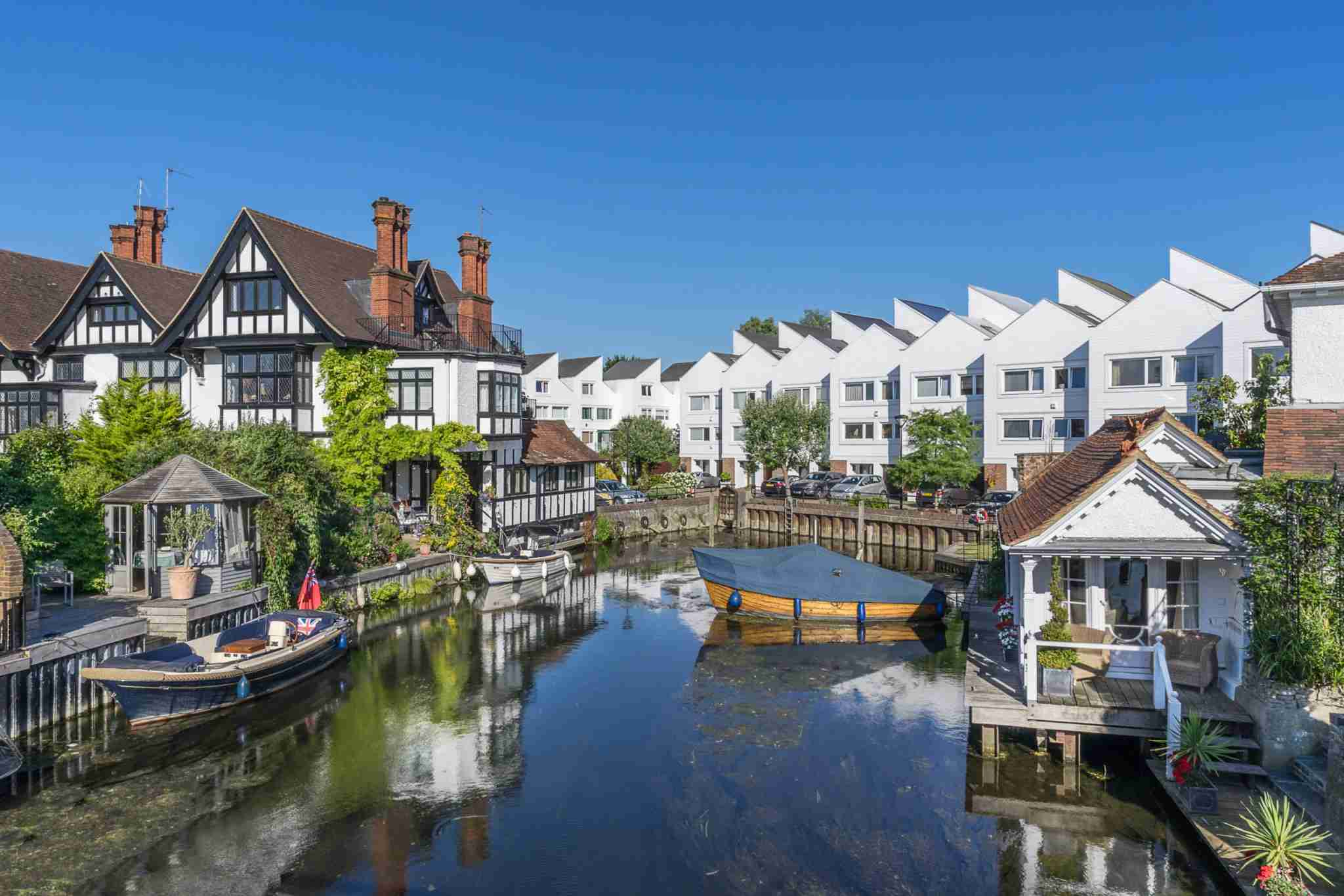 Marlow Lock on the River Thames. (Photo by GordonBellPhotography/Getty Images)