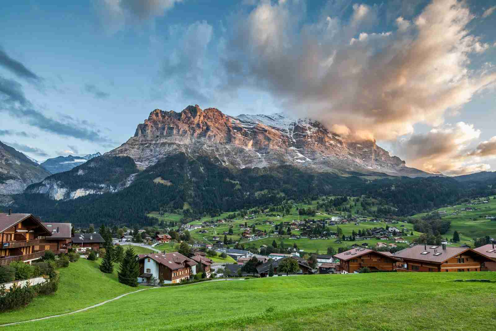 Grindelwald Village. (Photo by Jungang Yan/Getty Images)