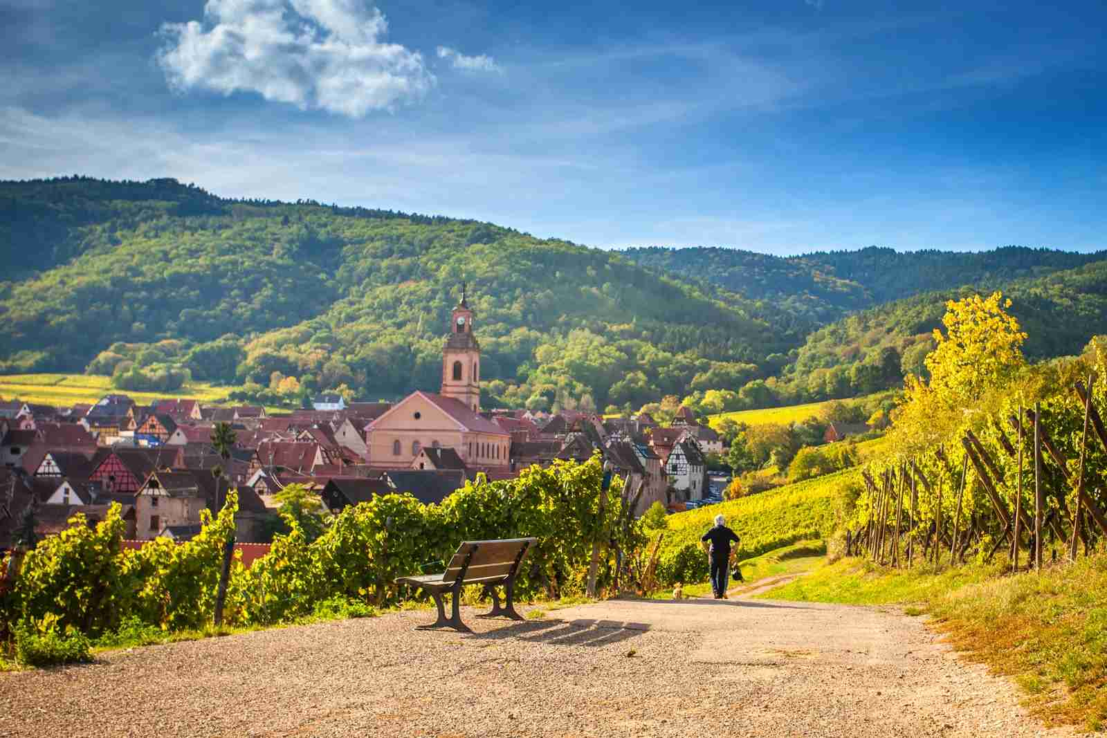 Riquewihr, Alsace, France. (Photo by Kirill Rudenko/Getty Images)