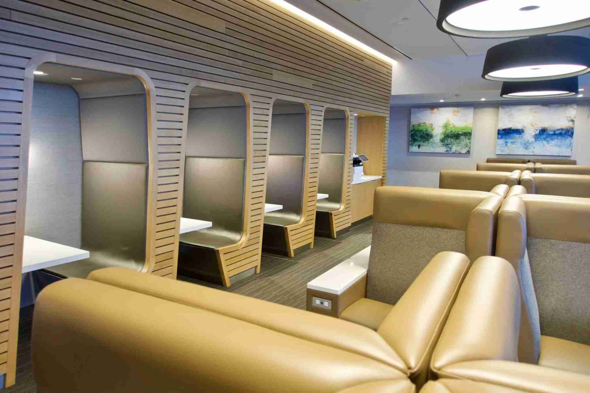 AA Flagship Lounge, Terminal 8 JFK. Photo by Christian Kramer / The Points Guy