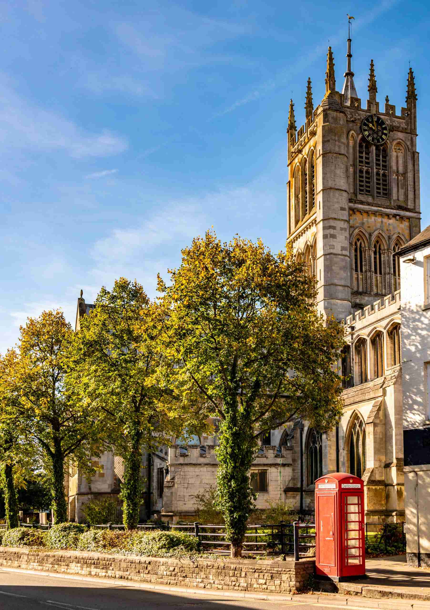 Saint Marys Church in the town of Melton Mowbray in Leicestershire