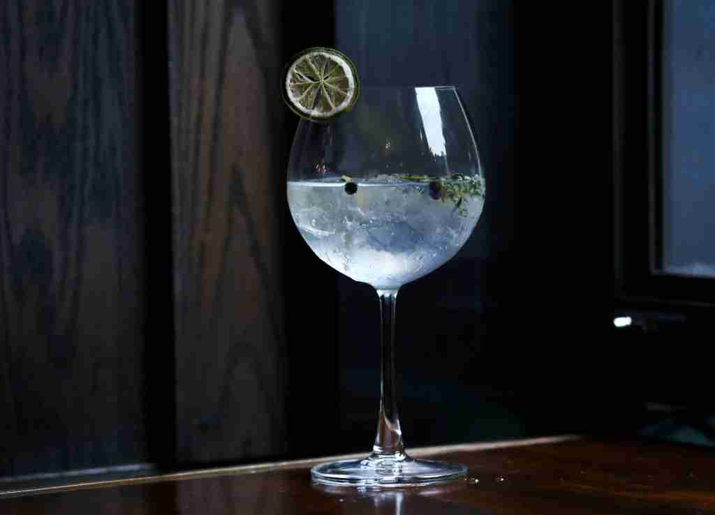 Gin and Tonic from Catalunya in Causeway Bay. 27FEB15 (Photo by Jonathan Wong/South China Morning Post via Getty Images)