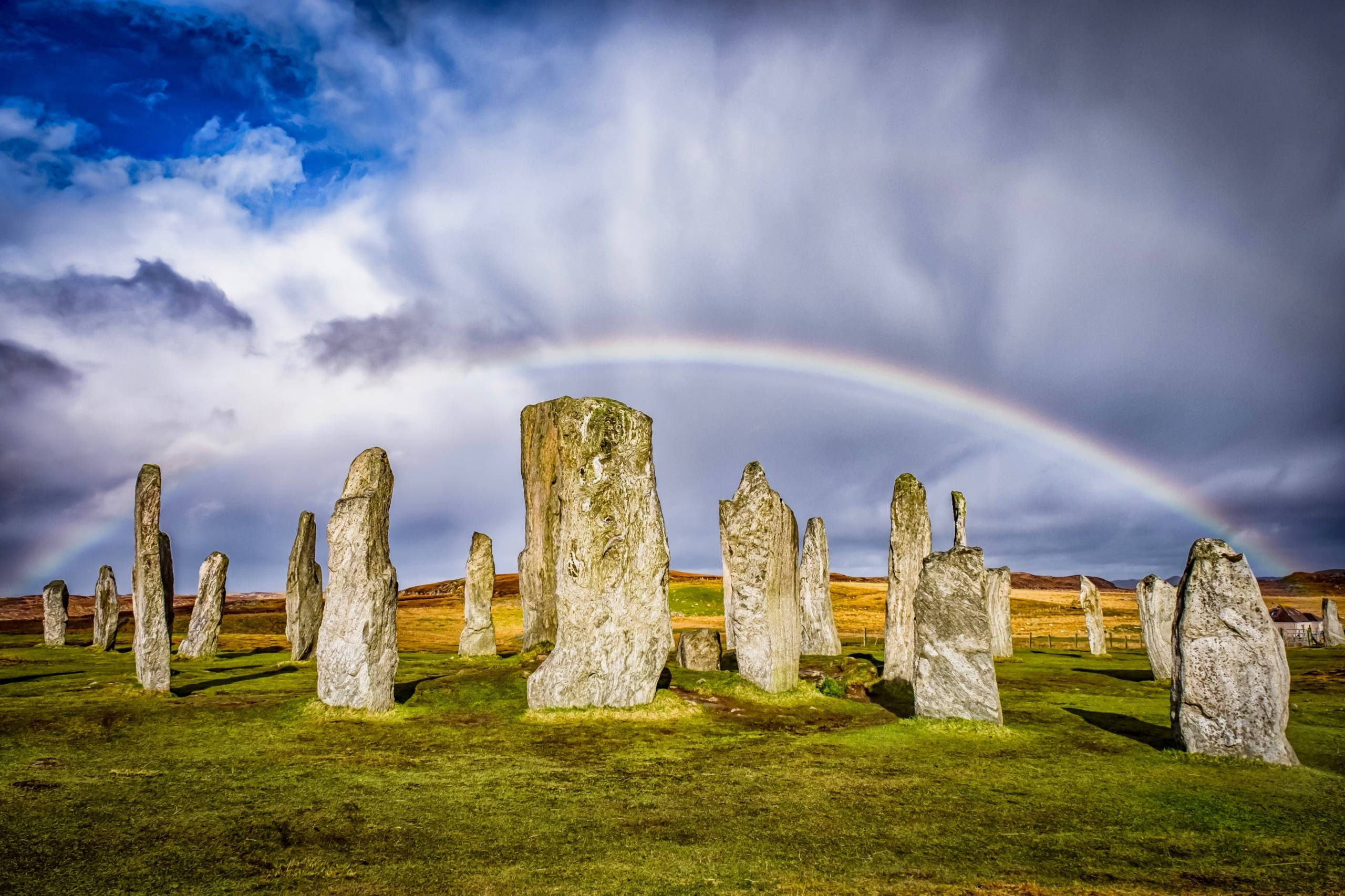 Callanish Standing Stones. (Photo by Rachel Bibby/ EyeEm/Getty Images)