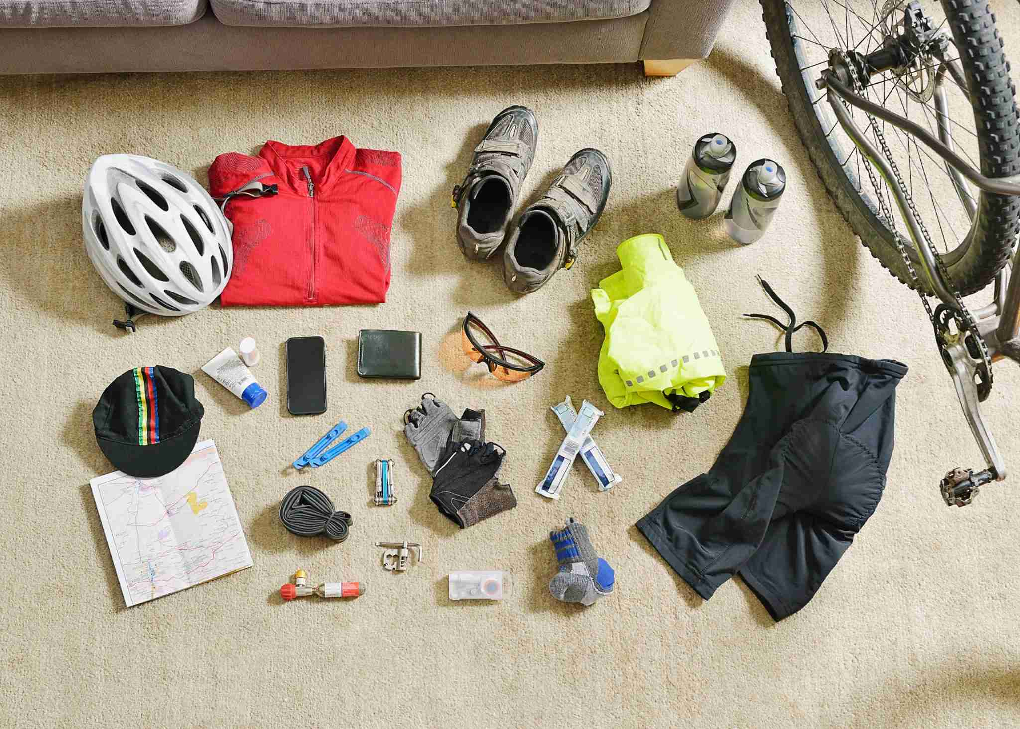 Cycling gear. Photo by David Malan / Getty Images