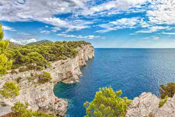 Telascica Nature Park on Dugi Otok island. (Photo by PATSTOCK/Getty Images)