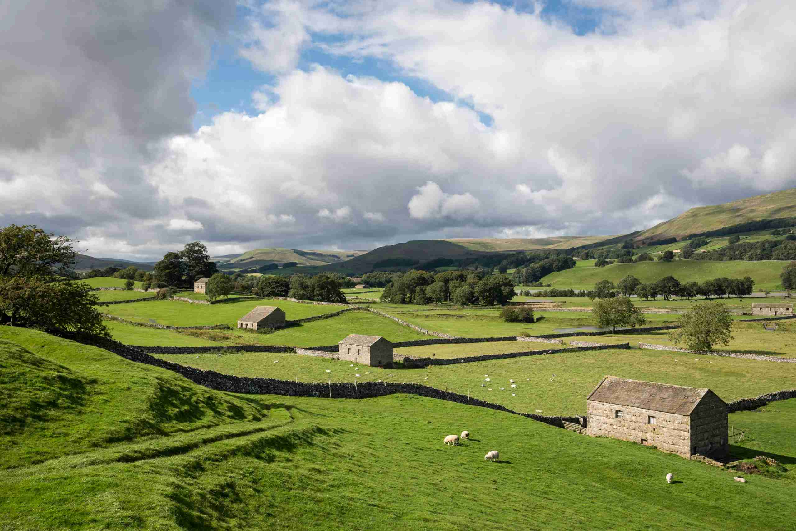 The lovely Yorkshire Dales. (Photo by Photos by R A Kearton/Getty Images)