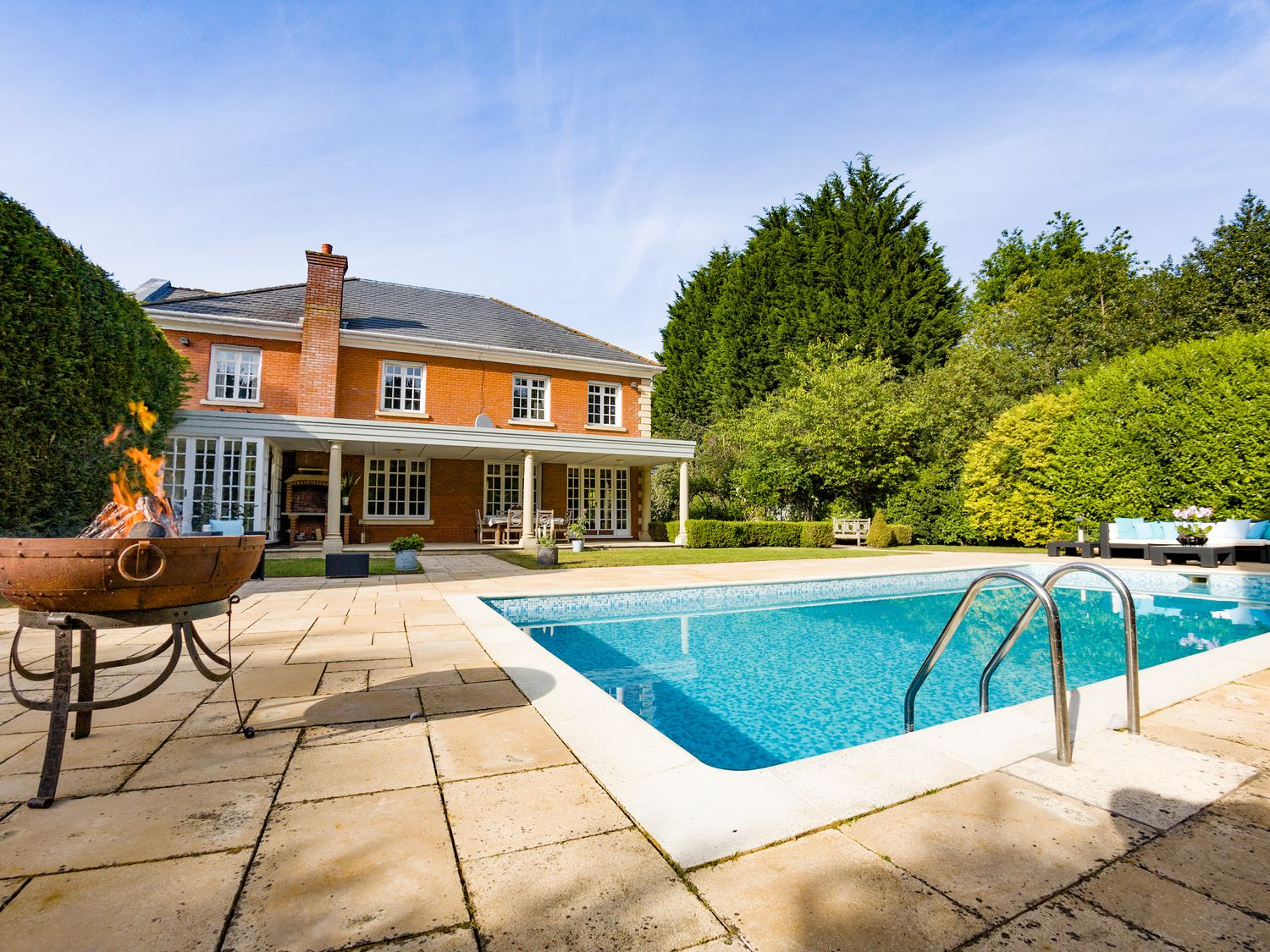 5 of the best UK holiday homes with private outdoor heated pools