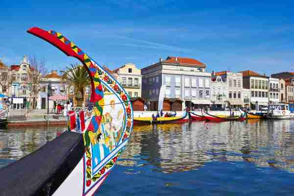Aveiro, Portugal. (Photo by Acnakelsy/Getty)