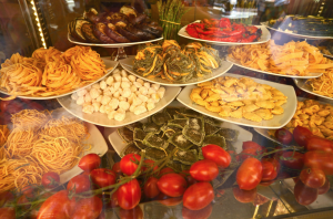 I can't wait to dine on delicacies like fresh Roman pasta.