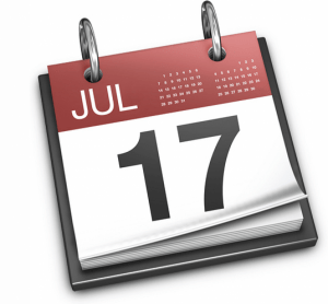 Better mark you calendar for 21 days out, otherwise you could be faced with a close in booking fee.