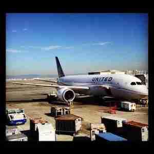 United 787.