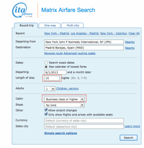 Airfare Search