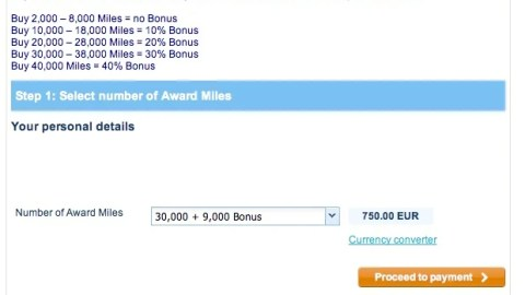 5917ca0d7f734c7 Up to 40% Bonus on Buying Flying Blue Miles – Worth It? – The Points Guy