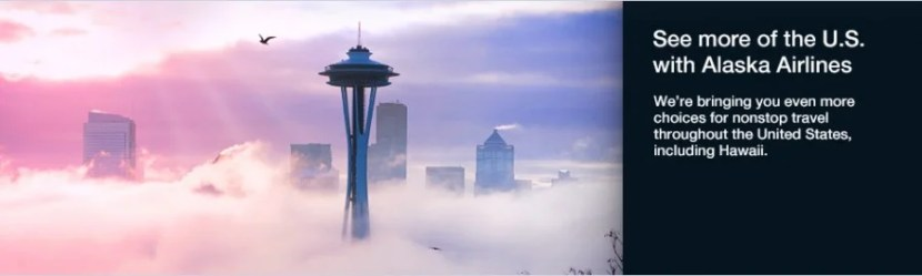 Enjoy more flight options throughout the United States with Alaska Airlines.