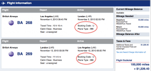 There is plenty of award availability aboard the A380 on AA.com.