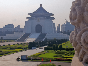 The Chiang Kai-Shek Memorial.