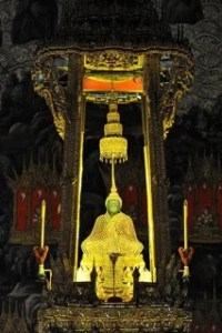 Emerald Buddha.