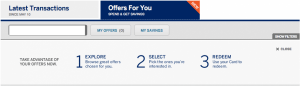 "Click on the ""Offers For You"" tab in your Amex account to get the Uber discount."