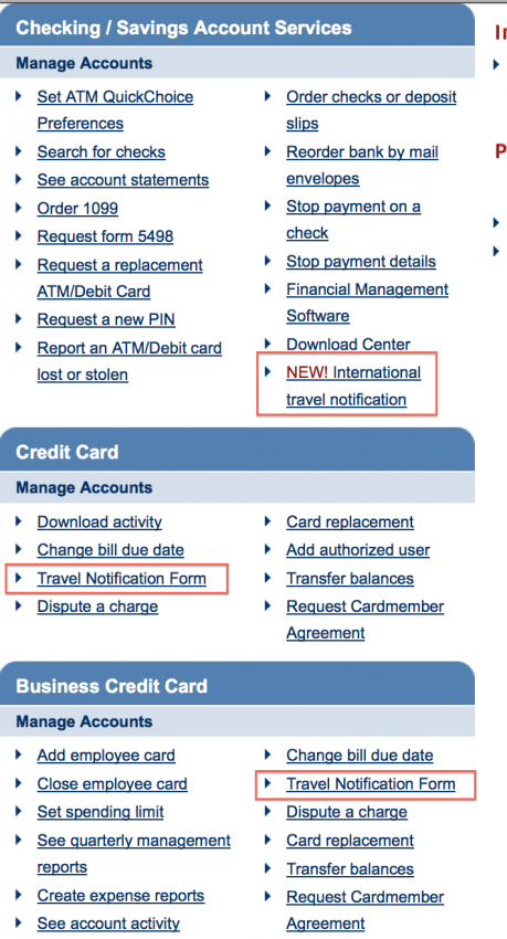 Avoid credit card shutoffs abroad by notifying chase of your avoid credit card shutoffs abroad by notifying chase of your international travels online the points guy colourmoves