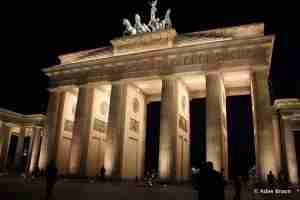 Brandenburg Gate is one of Berlin