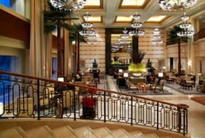 Dine at the Garden Lounge in the St. Regis