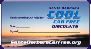 Santa Barbara is encouraging visitors to go car-free.