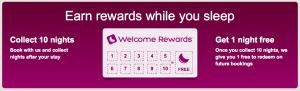 Hotelscom Welcome Rewards