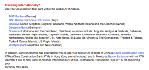 Avoiding ATM Withdrawal Fees When Traveling Abroad – The Points Guy