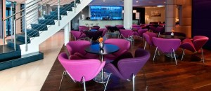 The bright and cheery welcome at the Hilton Reykjavik Nordica.