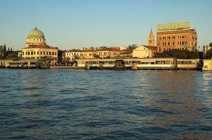 The Lido Vaporetto terminal