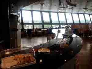 Basic British Airways lounge at TXL
