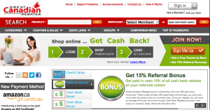 Great Canadian Rebates is a good site with deal and cashback listings to save you money.