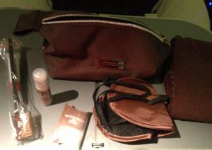 The Viktor & Rolf amenity kit.