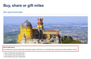 US Airways Share Miles 100