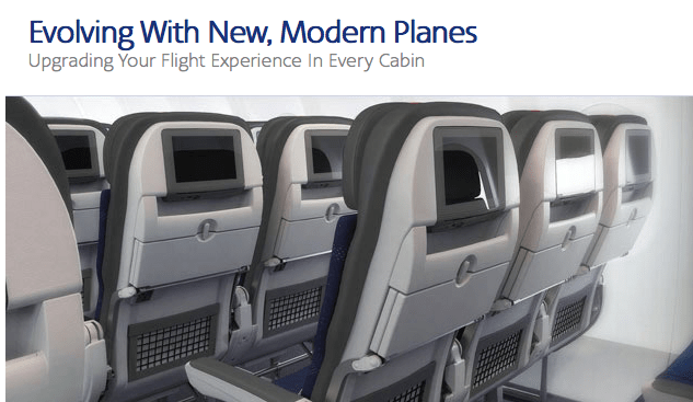 Inside the American Airlines A321.