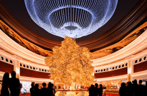 The Tree Of Prosperity at the Wynn Resort.