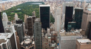 The Hilton New York Midtown is within walking distance of the ball drop in Times Square.