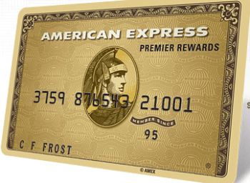 The American Express Premier Rewards Gold Card.