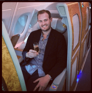 Emirates first class was top of my list.