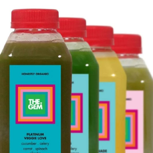 The four-juice Platinum Clarity Cleanse from Dallas' The GEM